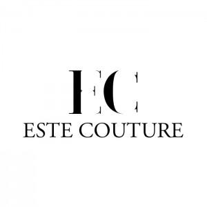 Este - black on white logo
