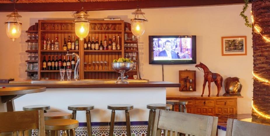 Large finca Marbella Finca Buenaventura bar