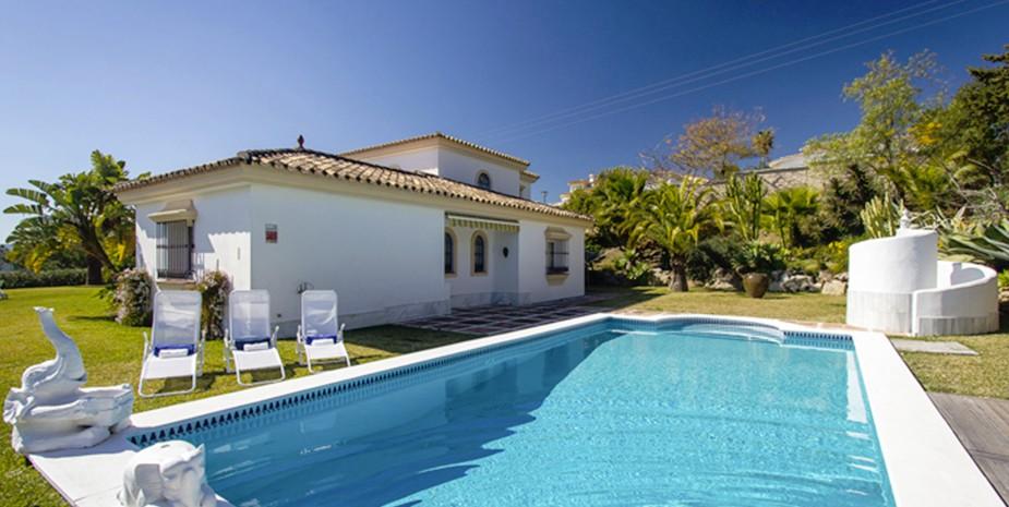 Large villa Estepona Villa Jasmine pool
