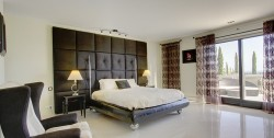Luxury villa Marbella 10 bedrooms Villa el Cano master bedroom ground floor