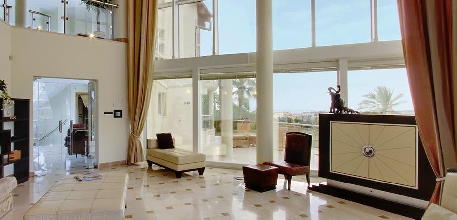 Villa el Cid luxury villa Marbella lounge 2