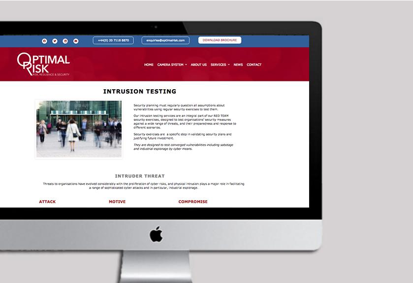 Optimal Risk website