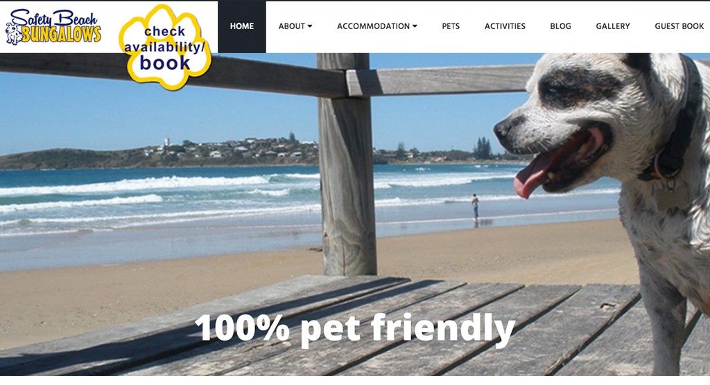 Safety Beach bungalows – our first Australian client