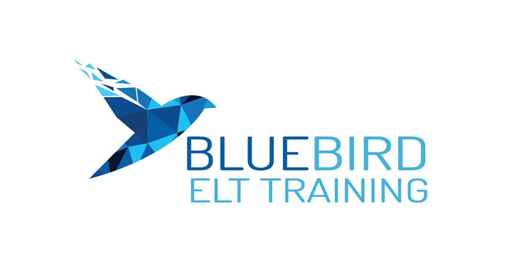 Bluebird flies out